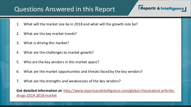Questions Answered in this Report  1. What will the market size be in 2018 and what will the growth rate be?  2. What are ...