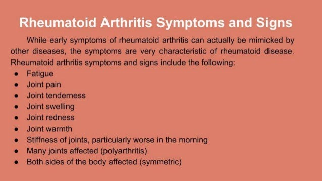 Image result for arthritis symptoms