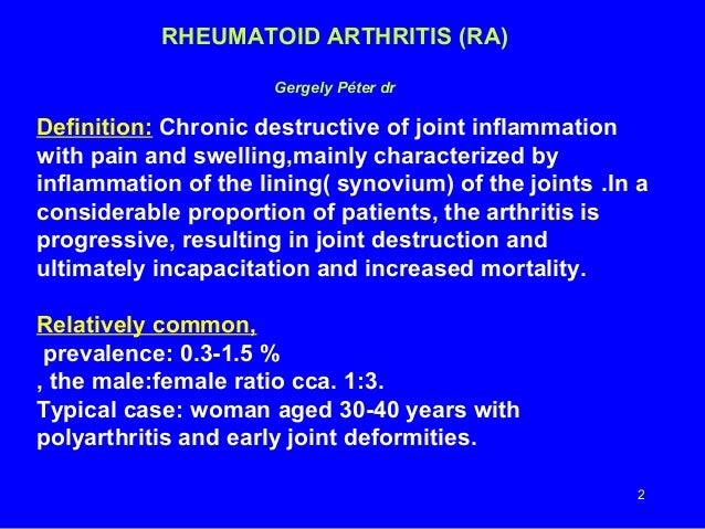 Doctor franks arthritis