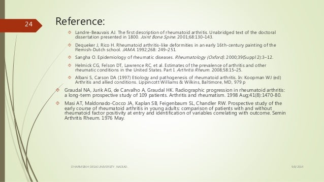 dissertations on rheumatoid arthritis 121 the pathogenesis of oa and the importance of fls 4 122 the role of il- 1 in oa 5 123 the role of il-6 in oa 6 124 the role of matrix metalloproteinases in oa 6 125 treatment of oa 7 13 rheumatoid arthritis ( ra) 8 131 the pathogenesis of ra 9 132 treatment of ra 10 133 animal models of ra.