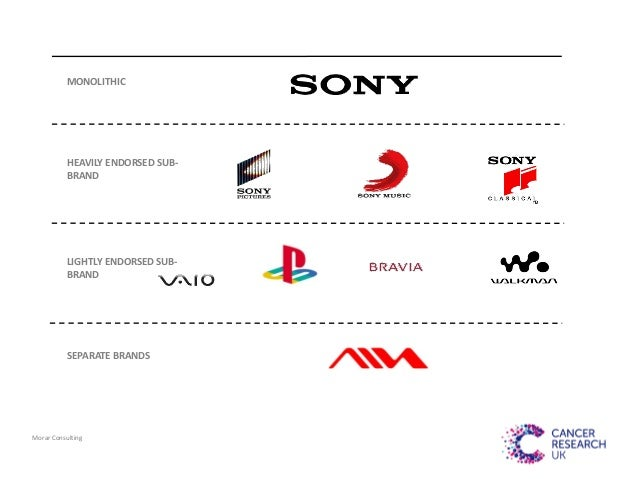 sony brand architecture This module is about manaigng brand architecture  other brand names  including levis, apple, mercedes benz, sony, coca cola, macys,.