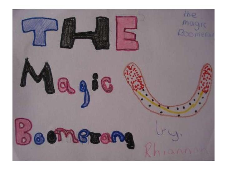 Rhiannon the magic boomerang
