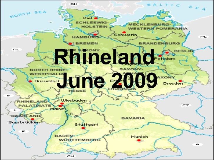 Rhineland  June 2009