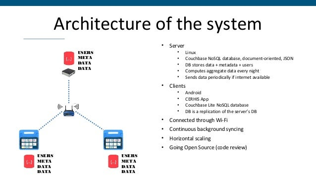 Addressing challenges • Easy to use and intuitive • Configurable (requirement of the NHMIS) • Works without internet • Rob...