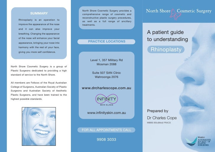 Rhinoplasty Dr Charles Cope