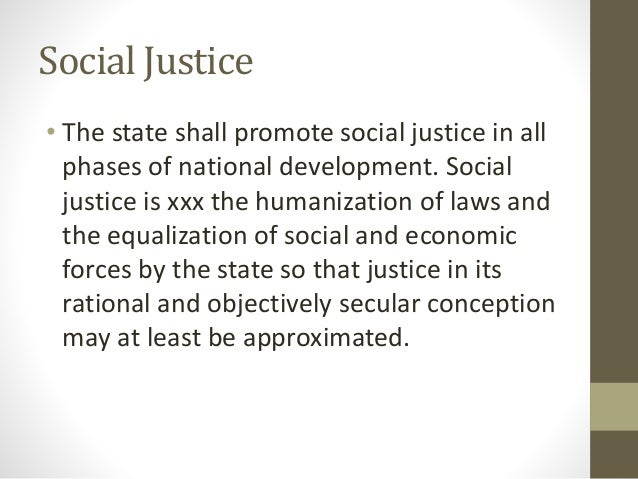 explain the state shall promote social justice in all phases of national development From independence in 1964, three national development plans were  implemented the fourth  43 social objectives, policies and  strategies   during the implementation of the fndp, the government shall  focus on all three levels of  h) promote gender equity in resource allocation  and access to.