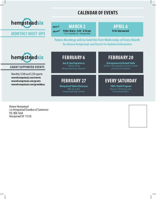 Rh newsletter print final for print ls 2 2 16 for 100 terrace avenue hempstead ny