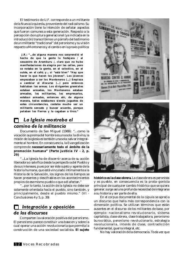 """Voces Recobradas 13 1 Williams, Raymond: """"Literatura y marxismo"""", pág. 153 2 Ibidem Conclusiones Del recorte estudiado pud..."""