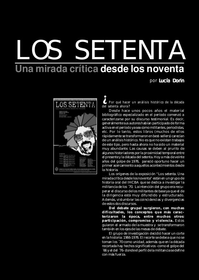 Voces Recobradas 5 La muestra se realizó en la semana del 18 al 22 de junio de 1997 en el Centro Cultural General San Mart...