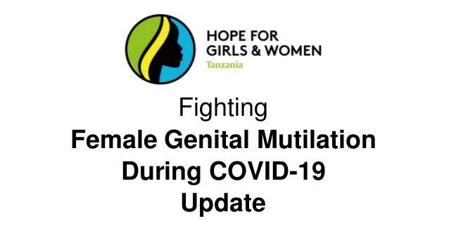Fighting Female Genital Mutilation During COVID-19 Update