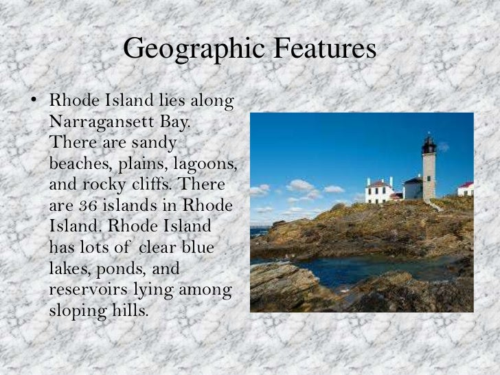 Statistics About Rhode Island Geography
