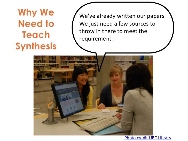 Shouldn't we, as instructional librarians, be          concerned about students' abilities to use          the information...