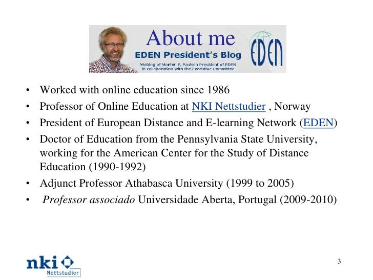 Cooperative Freedom and Transparency in Online Education Slide 3