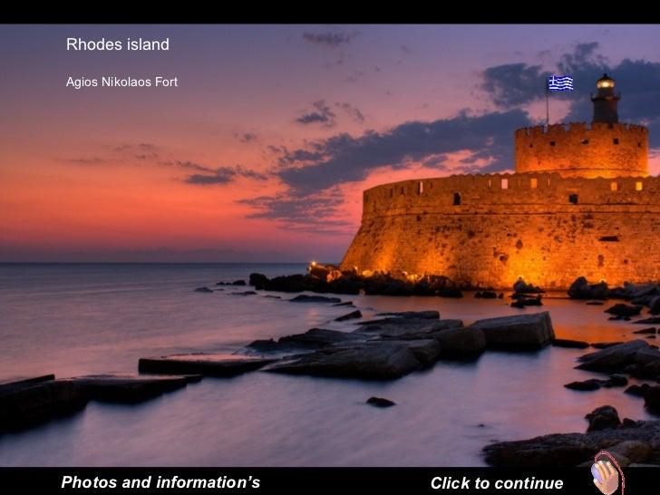 Rhodes island Agios Nikolaos Fort  Photos and information's Click to continue