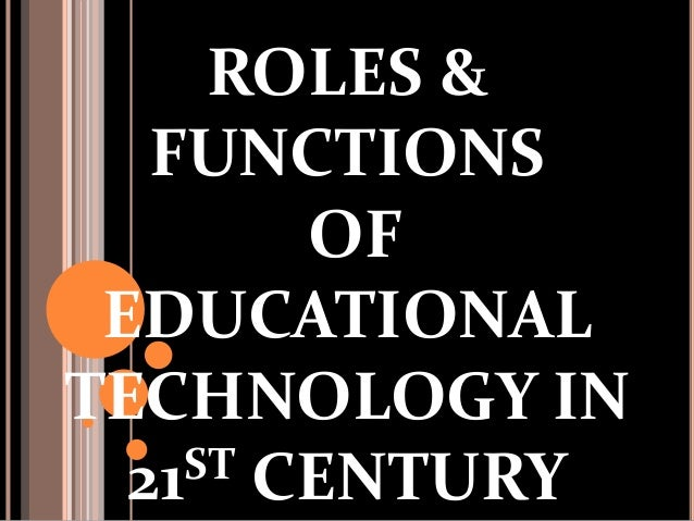 importance of education in 21st century Nola a, a senior english instructor at eton institute, provides a useful insight into the roles relevant to today's teaching  it is clear that the 21st-century classroom needs are very.