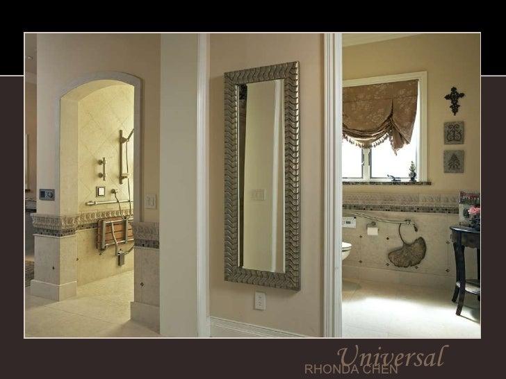 Universal design by rhonda chen for Interior designs by rhonda
