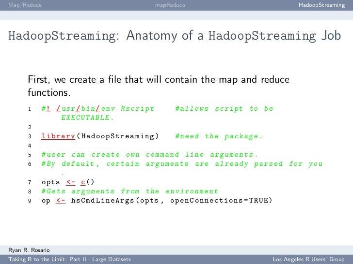 Map/Reduce                                        mapReduce                            HadoopStreaming     HadoopStreaming...