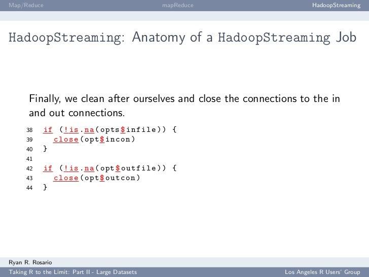 Map/Reduce                                        mapReduce             HadoopStreaming     HadoopStreaming: Anatomy of a ...