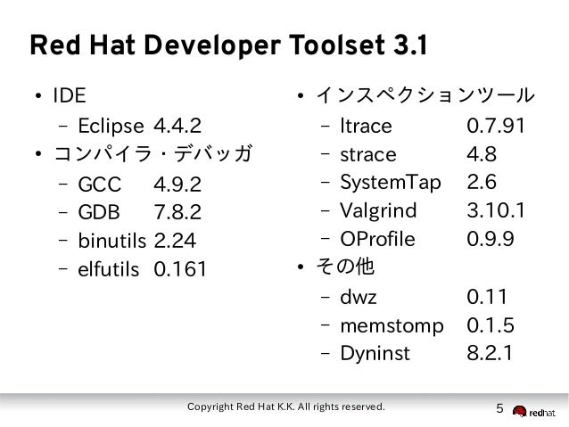 Red Hat Software Collections 2.0 ご紹介