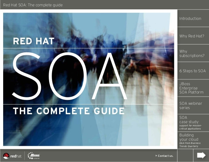 Red Hat SOA: The complete guide                                                 Introduction                              ...