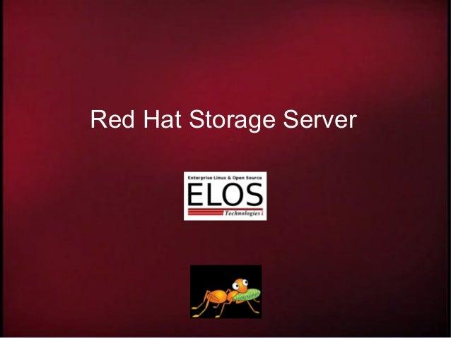 Red Hat Storage Server