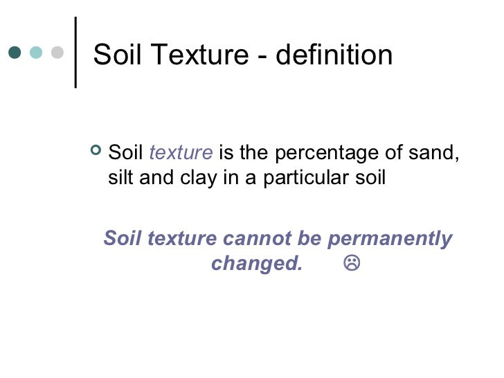 Rhs year 2 week 2 presentation for What is meant by soil