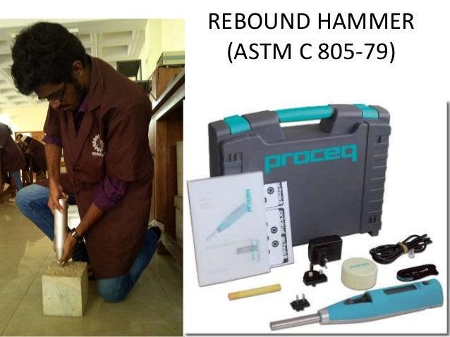 Rebound Hammer Test Priciple Procedure Cons Amp Pros