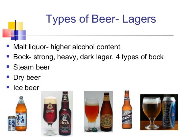 LAGER IS IT A TYPE OF BEER