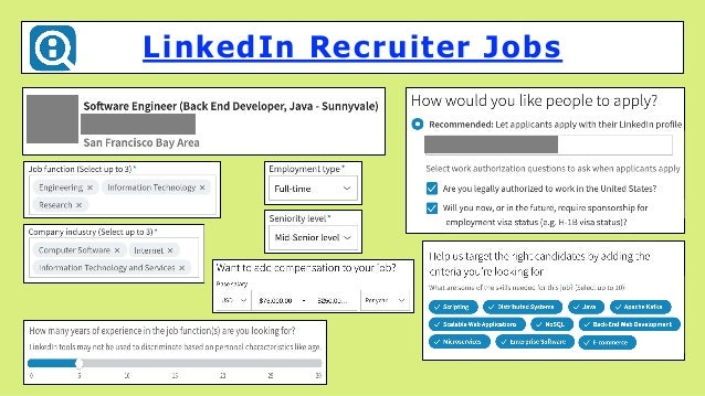 LinkedIn Recruiter Jobs