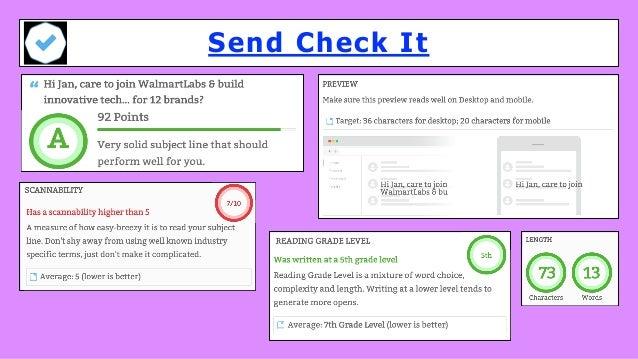 Send Check It