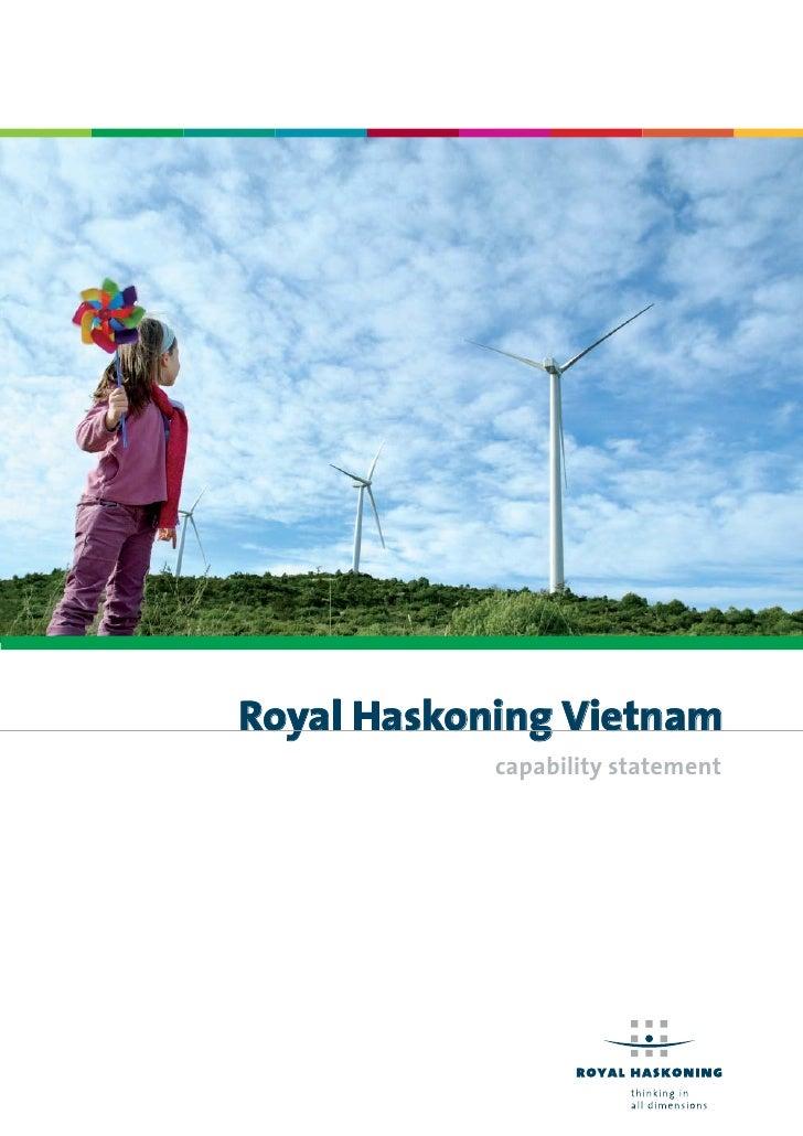 Royal Haskoning Vietnam            capability statement