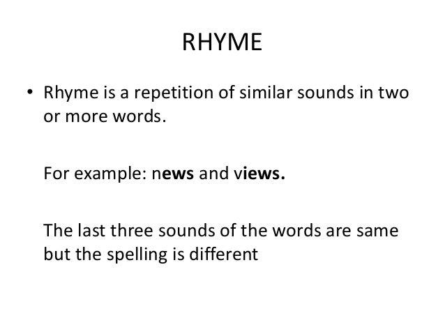 rhyme 2012