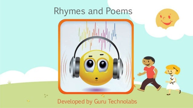 Rhymes and Poems Developed by Guru Technolabs