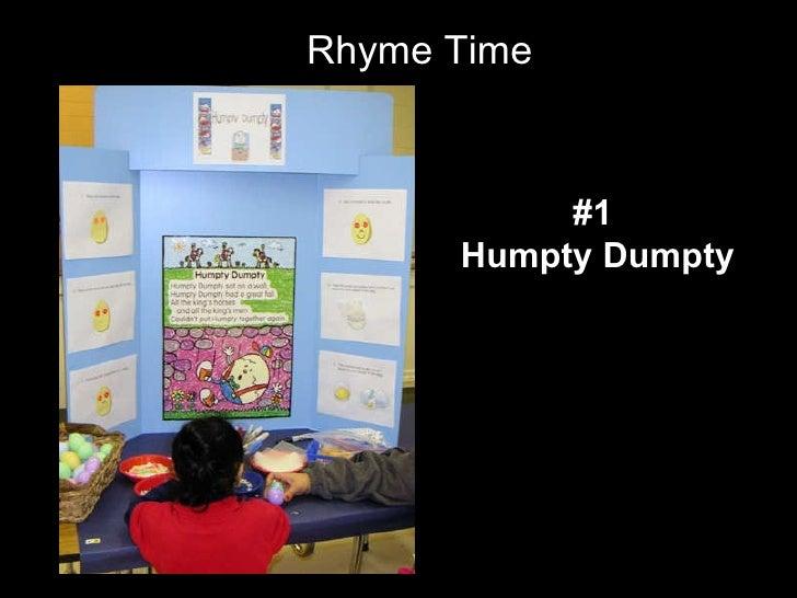 Rhyme Time #1  Humpty Dumpty