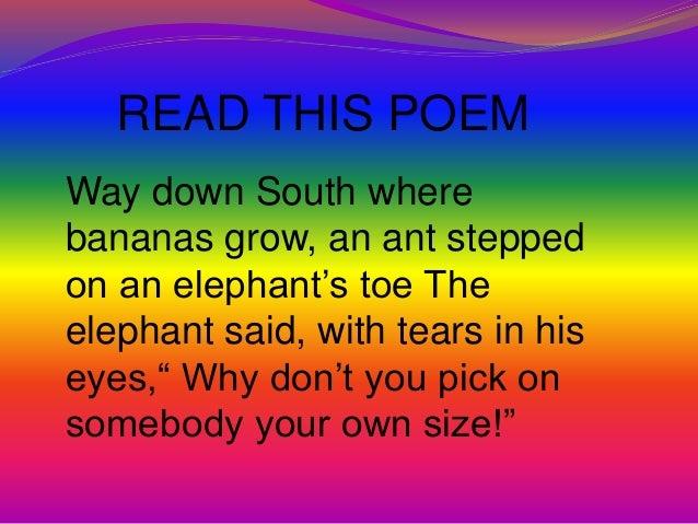 Rhyming words slideshare