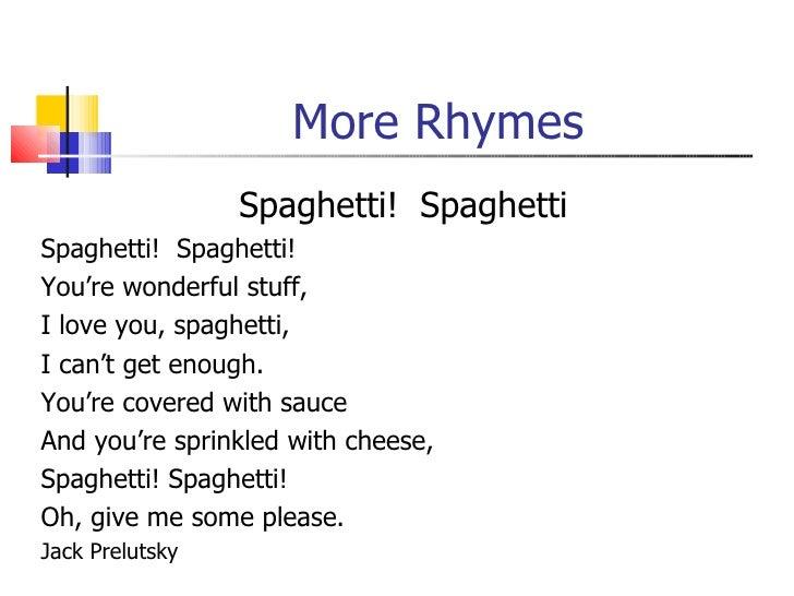 Rhythm Rhyme And Alliteration