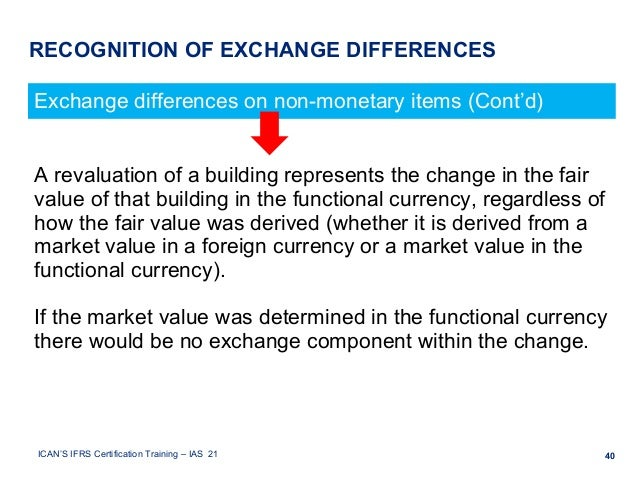 economic effects of the foreign exchange