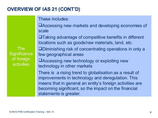 the effects of ifrs on financial