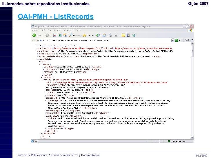 OAI-PMH - ListRecords