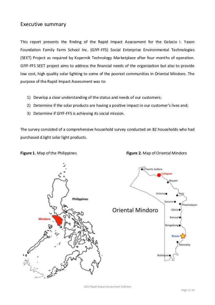 Solar Light Project Part - 29: Rapid Impact Assessment Of Koperniku0027s Solar Light Project In The Philippines