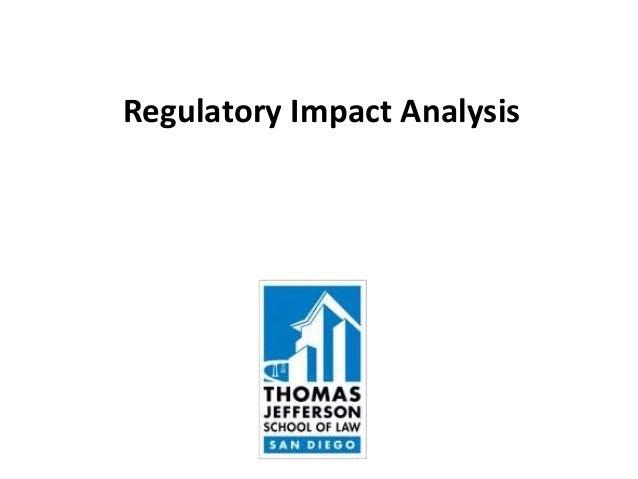Regulatory Impact Analysis