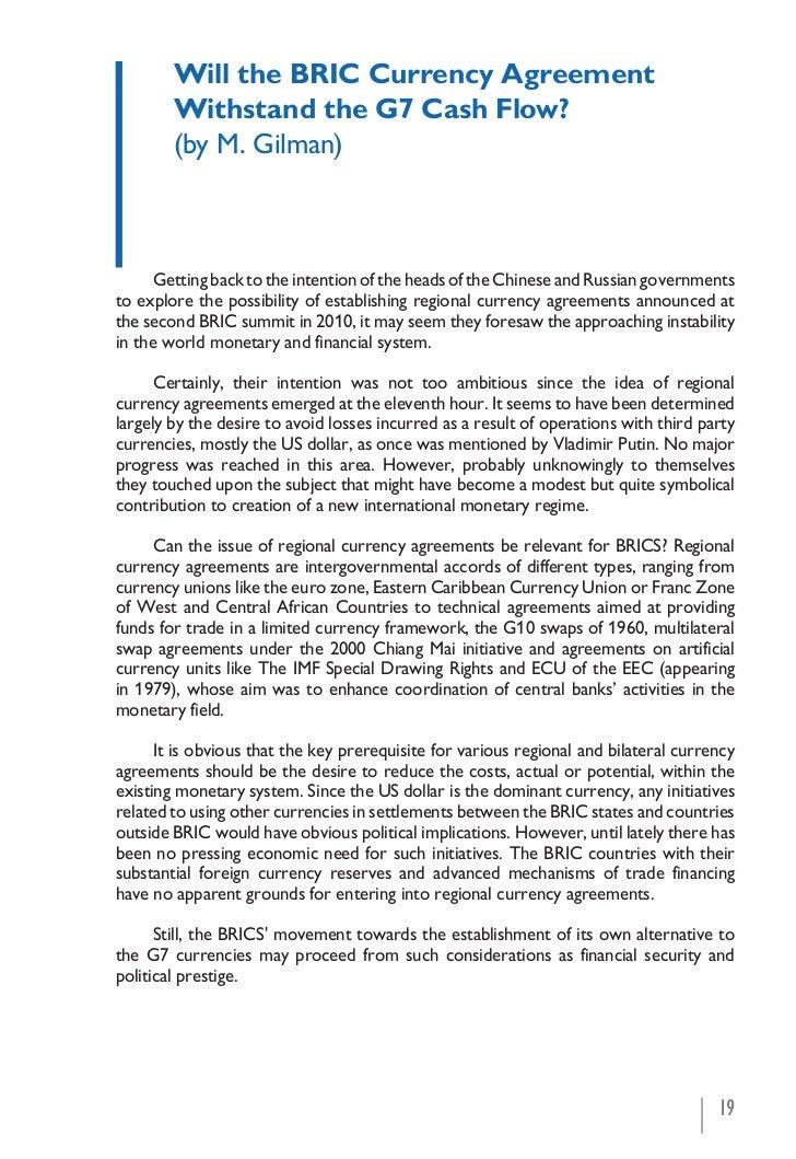 G20 G8 Brics Development Momentum And Interests Of Russia