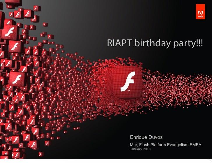 RIAPT birthday party!!!                                                                                              Enriq...