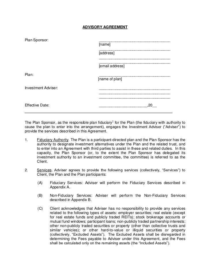 Ria Service Agreement Template 408 B 2