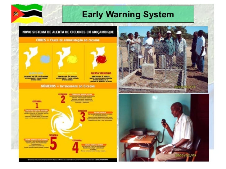 An effective early warning system in the rural and urban context Slide 3