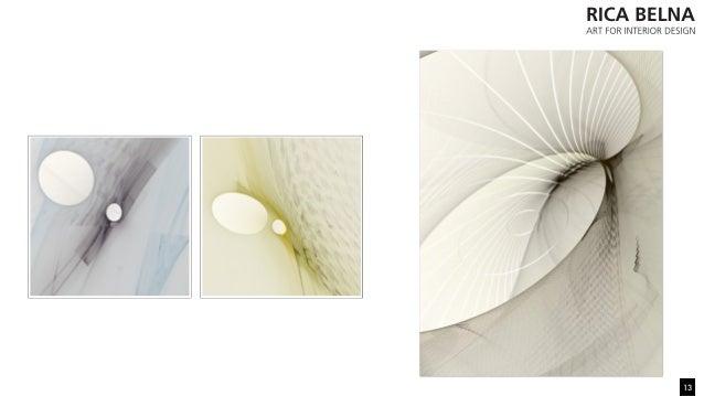 Rica belna art for interior design graphic art for Minimal art slideshare