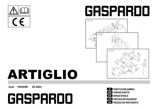 Gaspardo Ricambi artiglio 2004 02 (19530481)