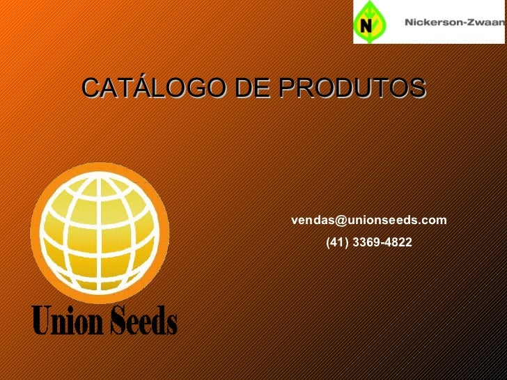 CATÁLOGO DE PRODUTOS [email_address] (41) 3369-4822