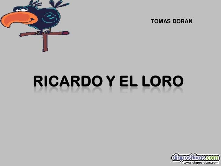 TOMAS DORAN