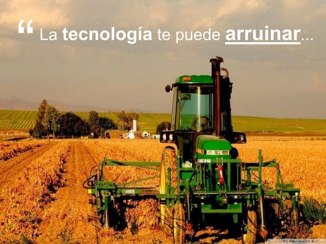 """14 >>> AGENDA La tecnología te puede arruinar... """""""